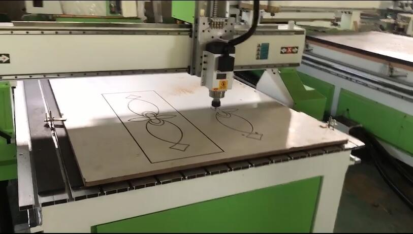 Single-head CNC Router Working Video