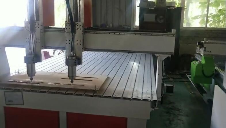 Double-Process CNC Router Working Video