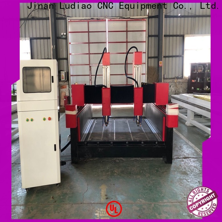 Ludiao Wholesale cnc marble carving machine supply for stone engraving