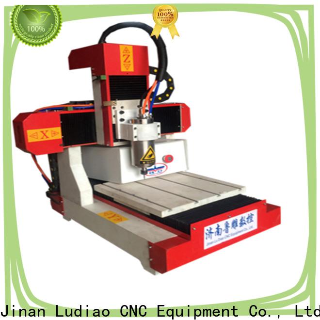 Ludiao digital wood carver cnc router supply for Advertising logo productiion