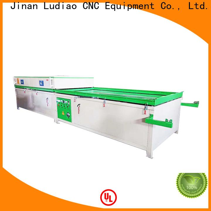 Ludiao pvc vacuum membrane press machine manufacturers for wood working