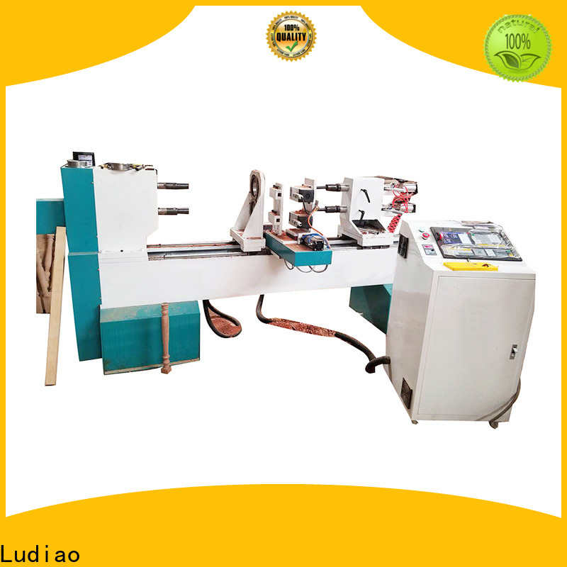 Ludiao Wholesale best small wood turning lathe company for wood working