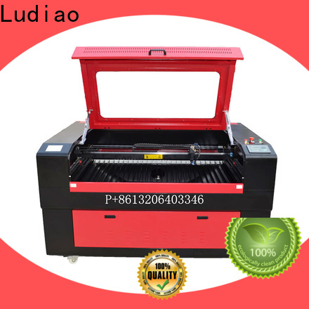 Ludiao 100w co2 laser cutter supply for cutting flat-sheet materials