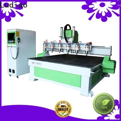 Ludiao digital wood carver cnc company for wood cutting