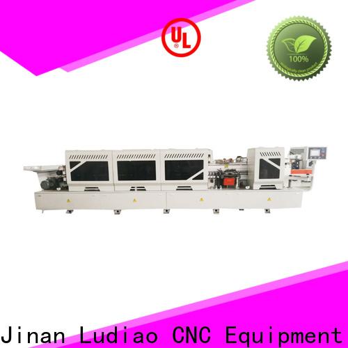 Ludiao Best edge binding machine price company for wood furniture edge banding