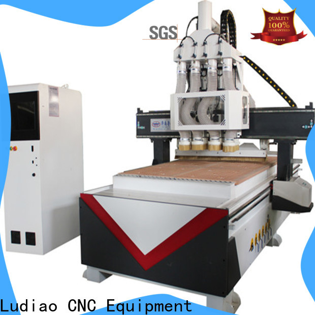 Ludiao Custom tabletop cnc router machine for business for woodworking