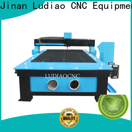 Ludiao esab plasma cutting machine factory for steel, thick sheet metal cutting
