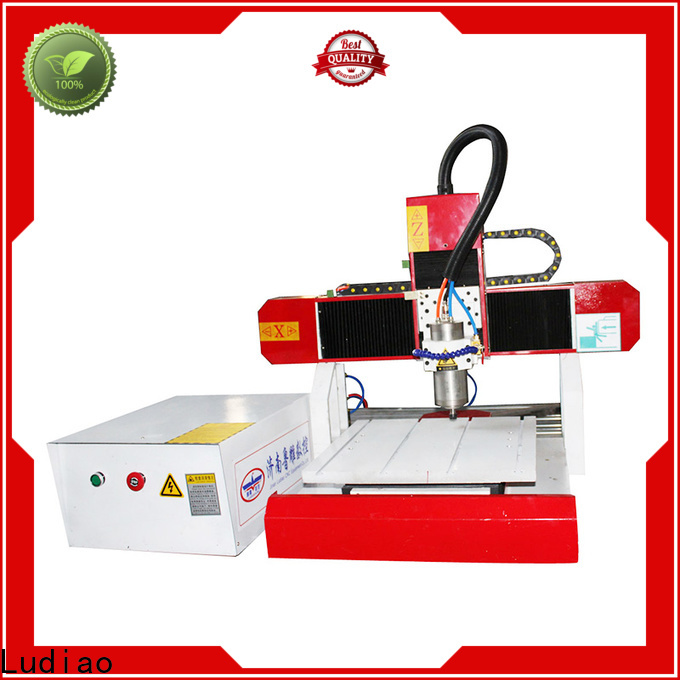 Ludiao automatic wood carving machine suppliers for Advertising logo productiion