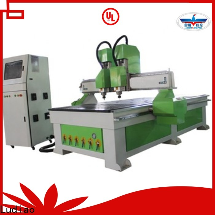 Ludiao Top 3d wood milling machine supply for wood worker