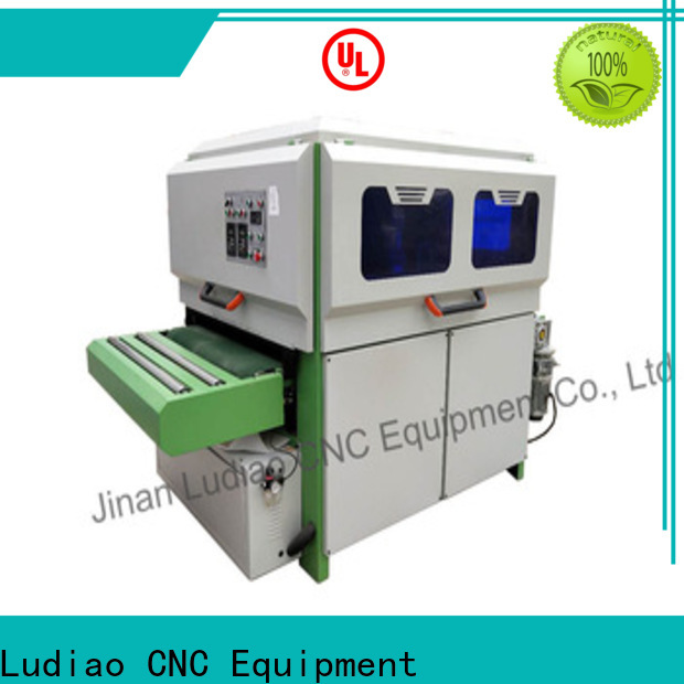 Ludiao wood polish machine price supply for Wood Cabinet Door Production Line