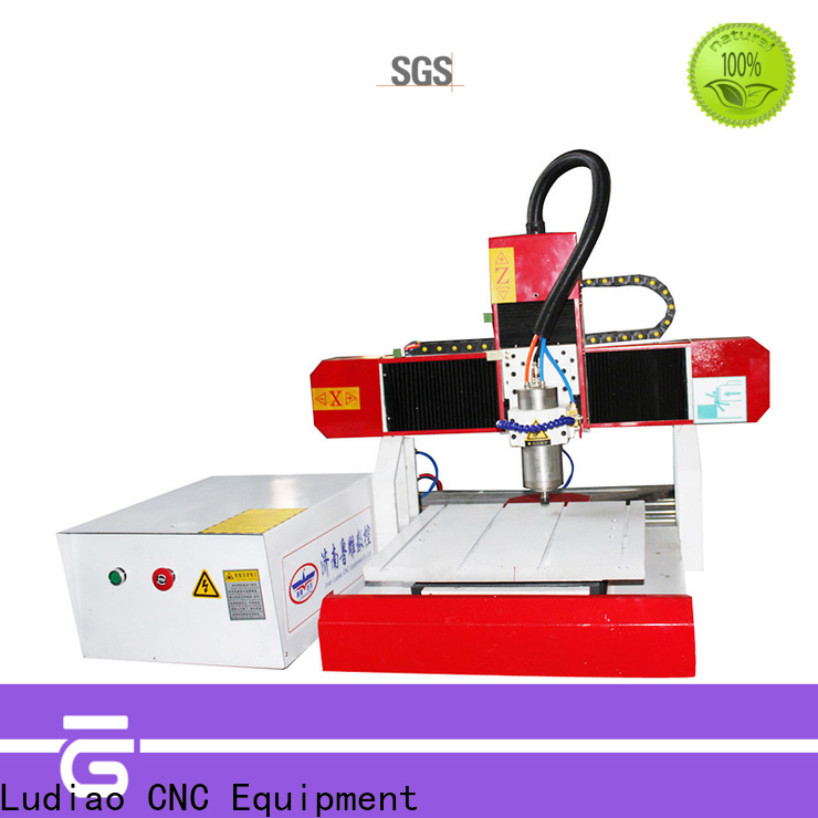 Ludiao automatic wood engraving machine manufacturers for Advertising logo productiion