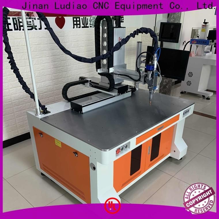 Ludiao laser welding machine manufacturers company for welding metal materials