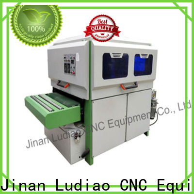 Ludiao New wood buffing machine suppliers for Wood Cabinet Door Production Line
