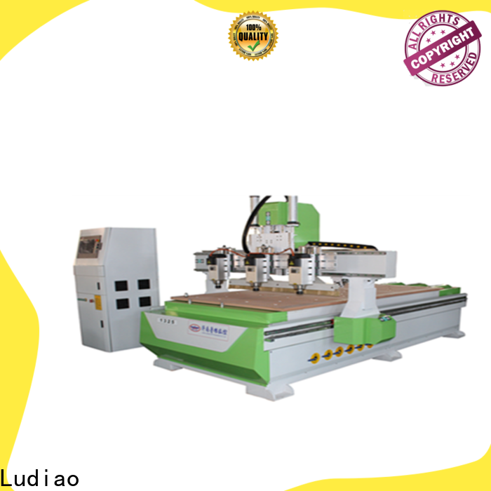 Ludiao automatic wood carving machine for business for wood cutting