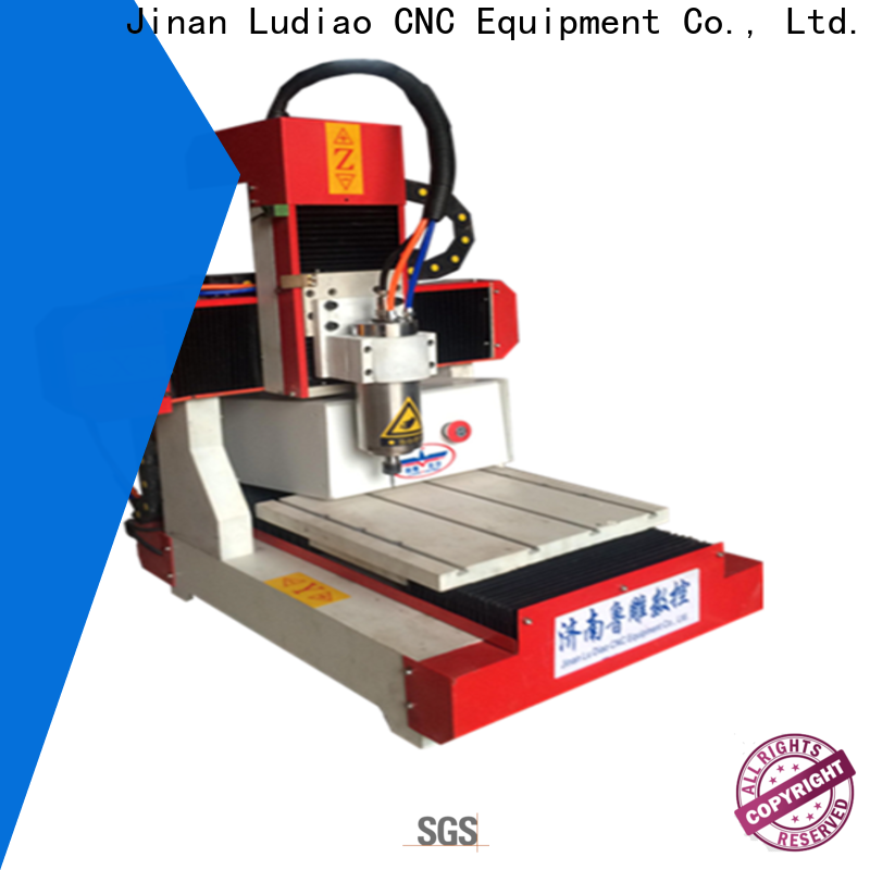 Ludiao home cnc machine kit factory for Advertising industry