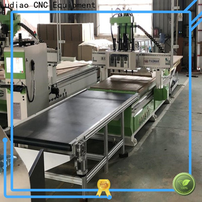Ludiao table top wood cnc machine for business for wood worker