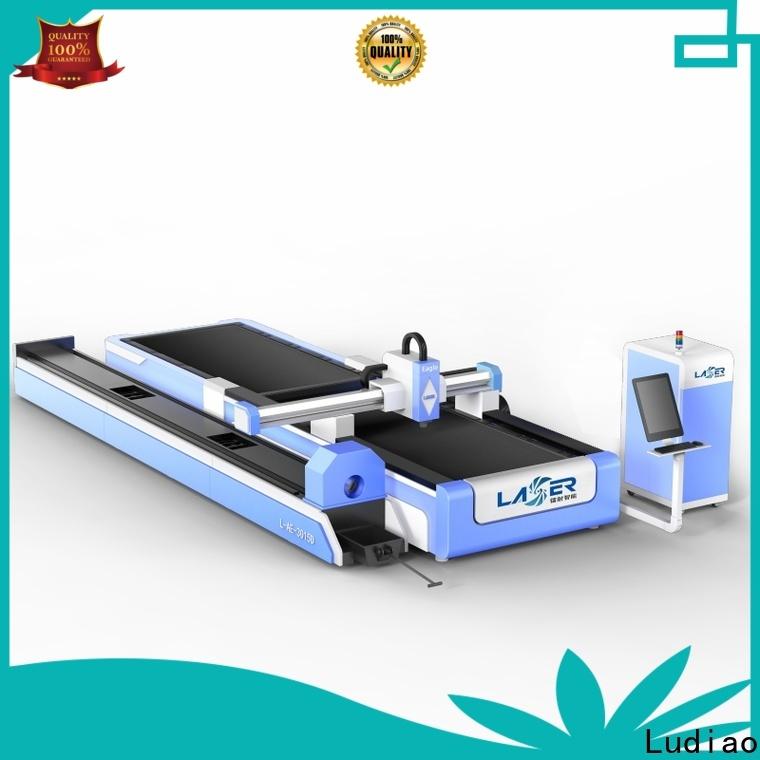 Ludiao fiber cutting machine manufacturers for cutting metal materials