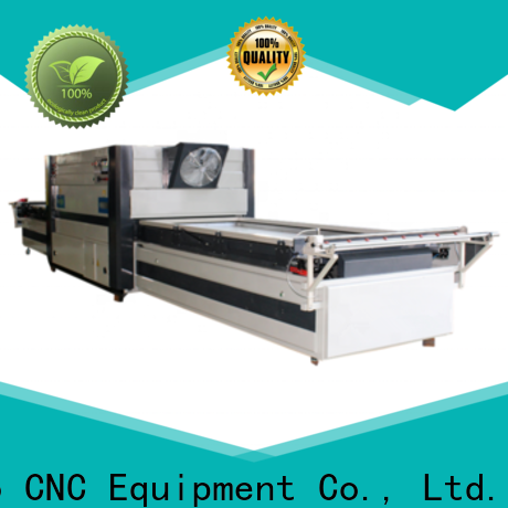 Ludiao Custom vacuum transfer printing machine supply for Wood Cabinet Door Production Line