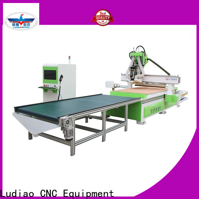 Ludiao cnc flatbed router for sale for business for woodworking industry