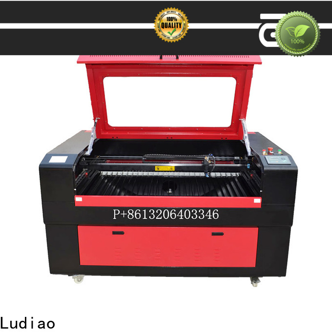 Ludiao Best 3d laser wood engraving machine company for cutting metal materials