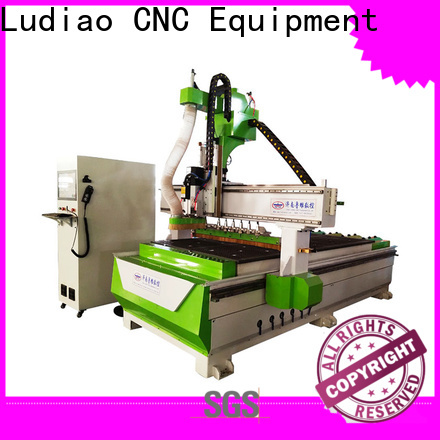 Ludiao 3d cnc engraving machine supply for wood working