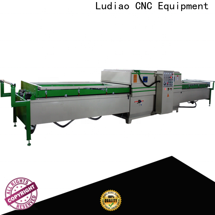 Ludiao vacuum hot press machine for business for Wood Cabinet Door Production Line