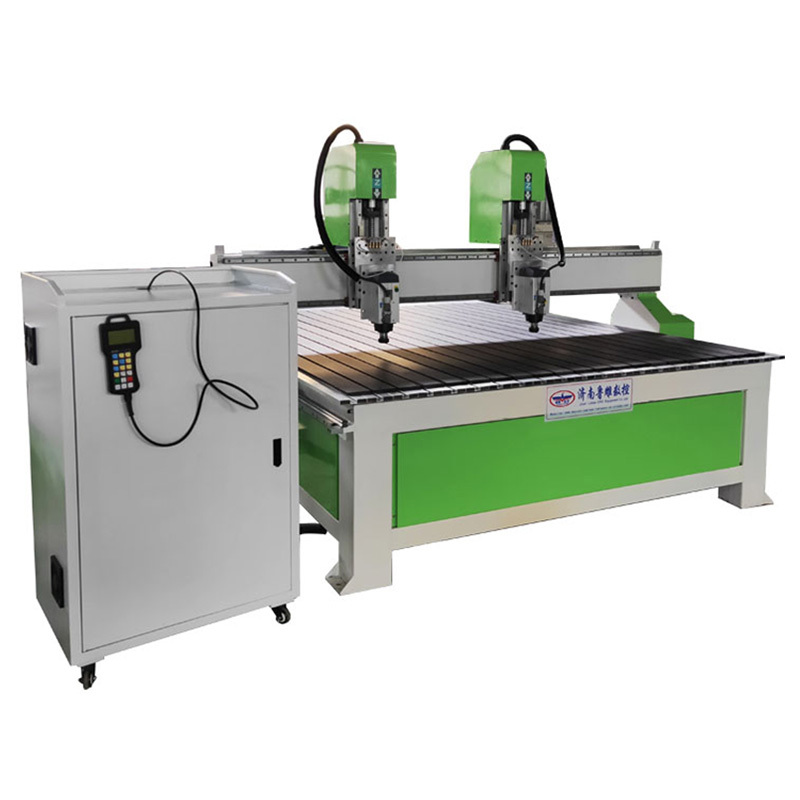 LD-1325 Woodworking CNC Router Machine with Double Spindles T-solt Table
