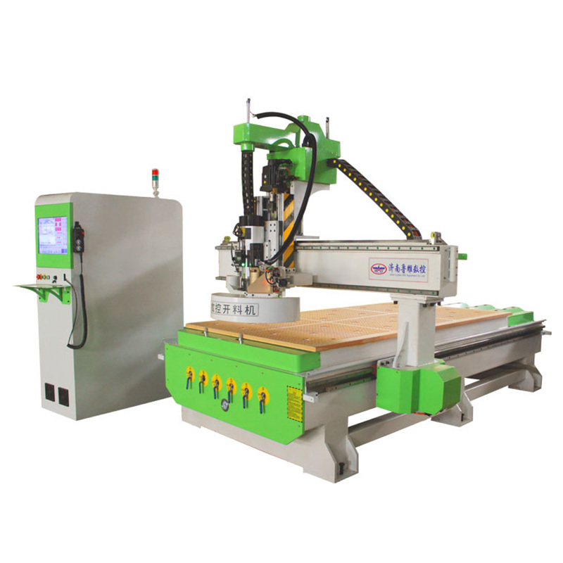 LD-1325 2030 Disk Type ATC CNC Wood Router Tool Changer with Carousel bank (12-20Knives)
