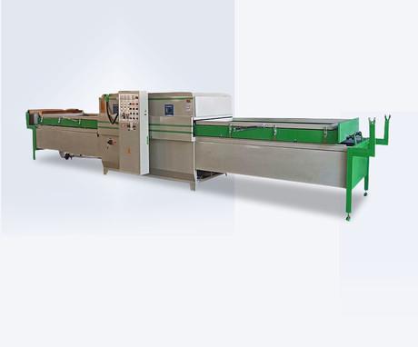 Automatic vacuum membrane press machine