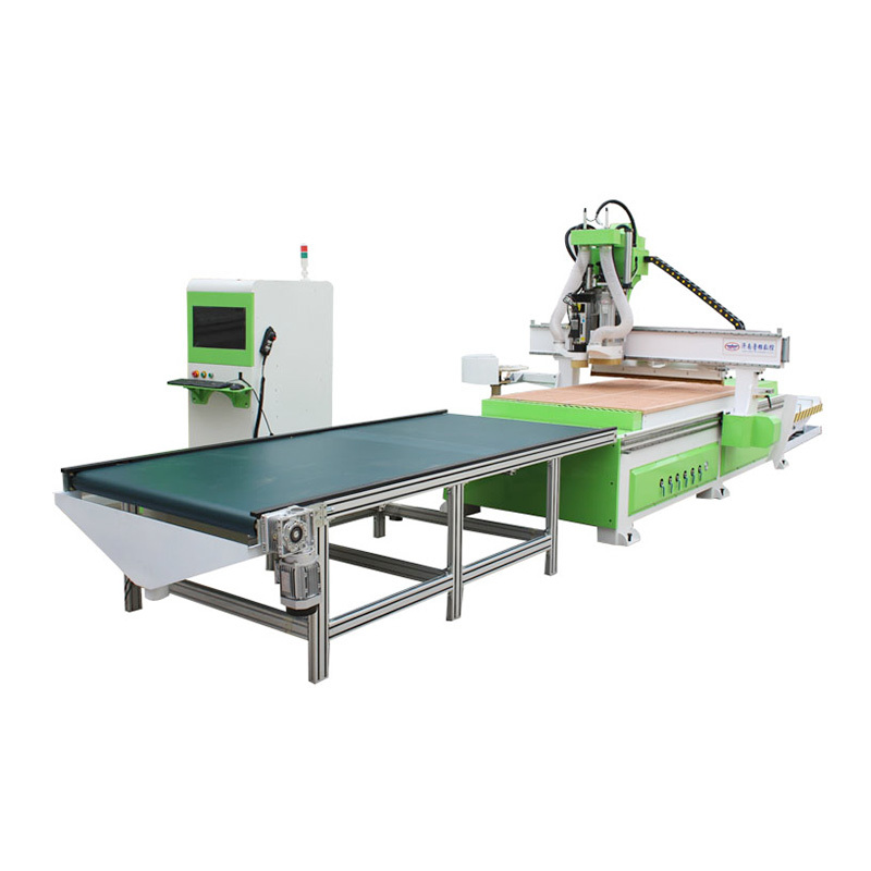 LD- 1325 Single Spindle CNC Router Machine with 5+4 boring head