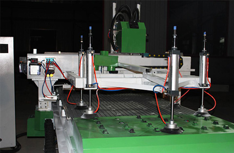 Ludiao Wholesale cnc flatbed router factory for wood working-2