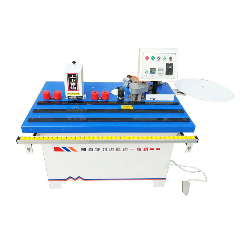 Manual edge banding machine for cabinet