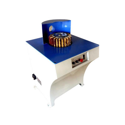Portable manual wood brush sanding machine for woodworking