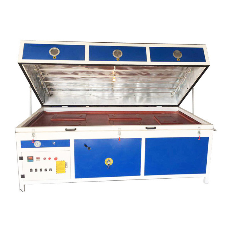 TM2480C-1 PVC Film Vacuum Press Woodworking Machine witn Single Station