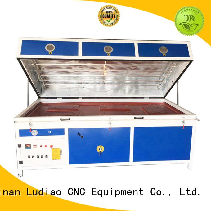 Best 3d sublimation vacuum machine problems factory for Wood Cabinet Door Production Line