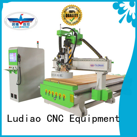 Ludiao cnc router reviews supply for wood worker