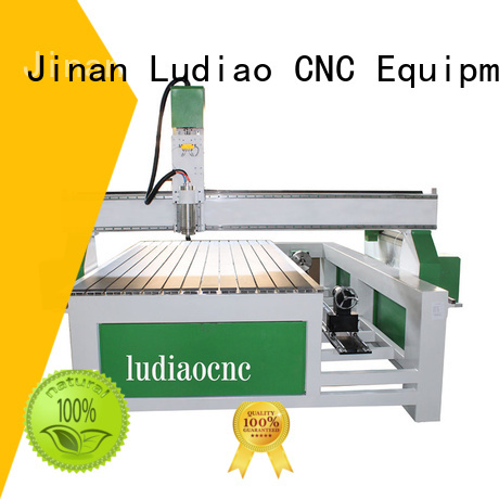 Ludiao cnc flatbed router for sale factory for wood cutting