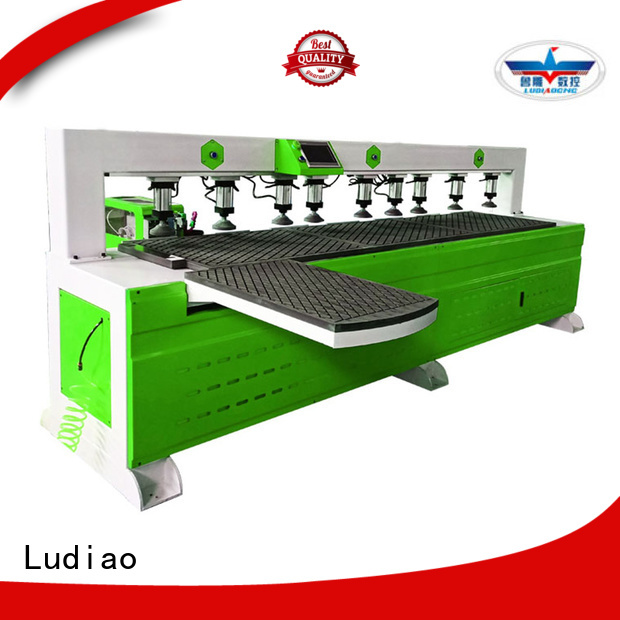 Ludiao cheap cnc lathe suppliers for wood working