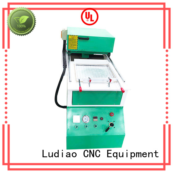 Ludiao Wholesale acrylic vacuum forming machine factory for CNC industry