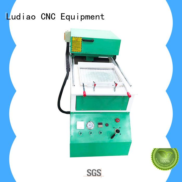 Ludiao plastic vacuum machine manufacturers for CNC industry