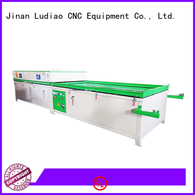Ludiao st 3042 heat press factory for wood worker