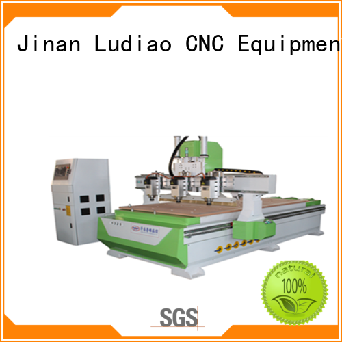 Ludiao New 4 axis cnc router company for woodworking