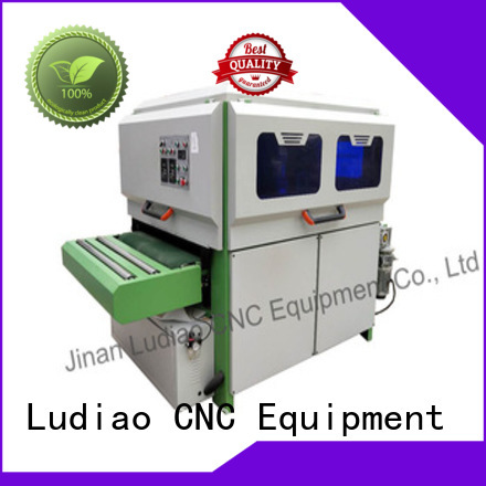 Ludiao High-quality wood polishing compound supply for Wood Cabinet Door Production Line