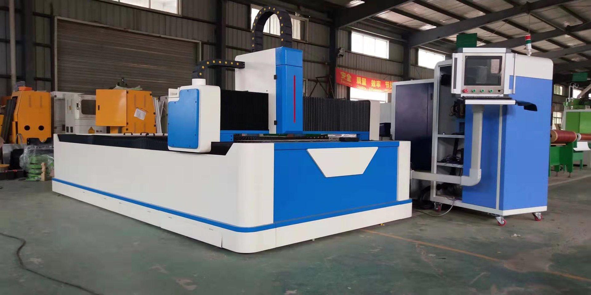 Sheet Metal Fiber Laser Cutting Machine at Affordable Price