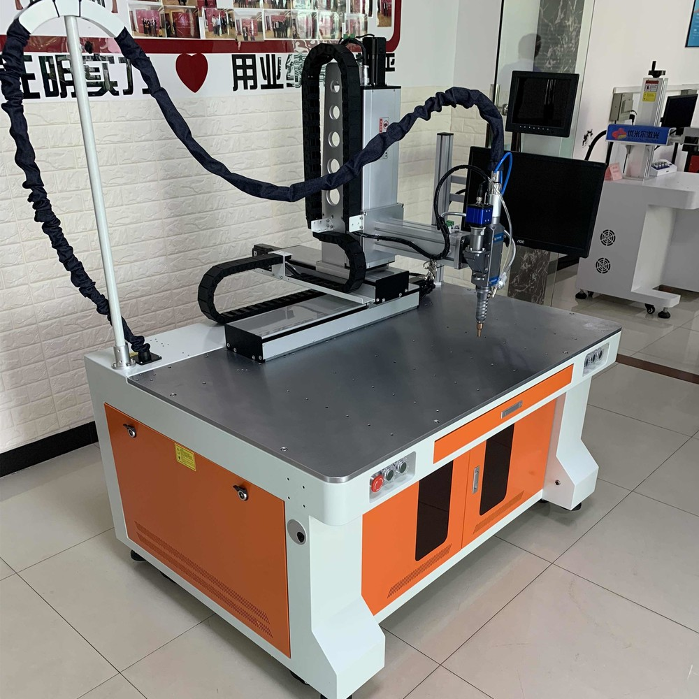 Battery Fiber CNC Laser Welding Machine