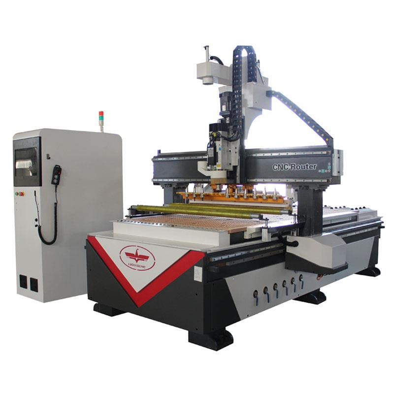 LD-1325 Automatic tool change with 9kw atc spindle cnc router machine
