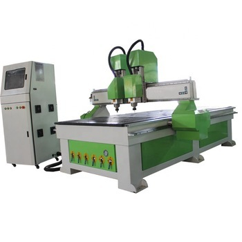LD-1325 cnc Woodworking machine Double-head Independent Vacuum Adsorption