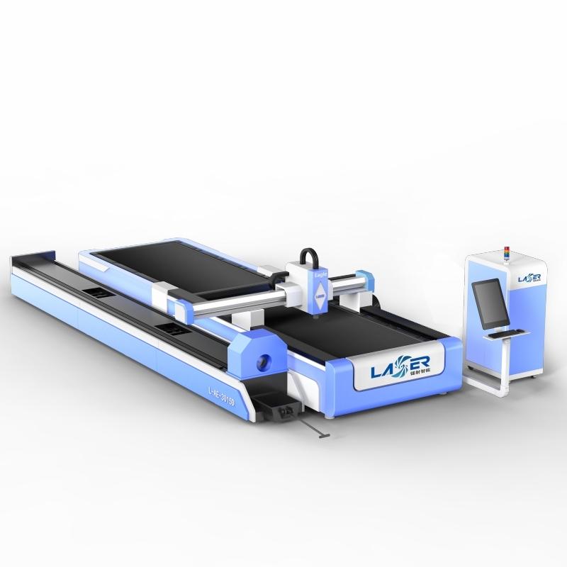 3015 metal plates and tubes fiber laser cutter