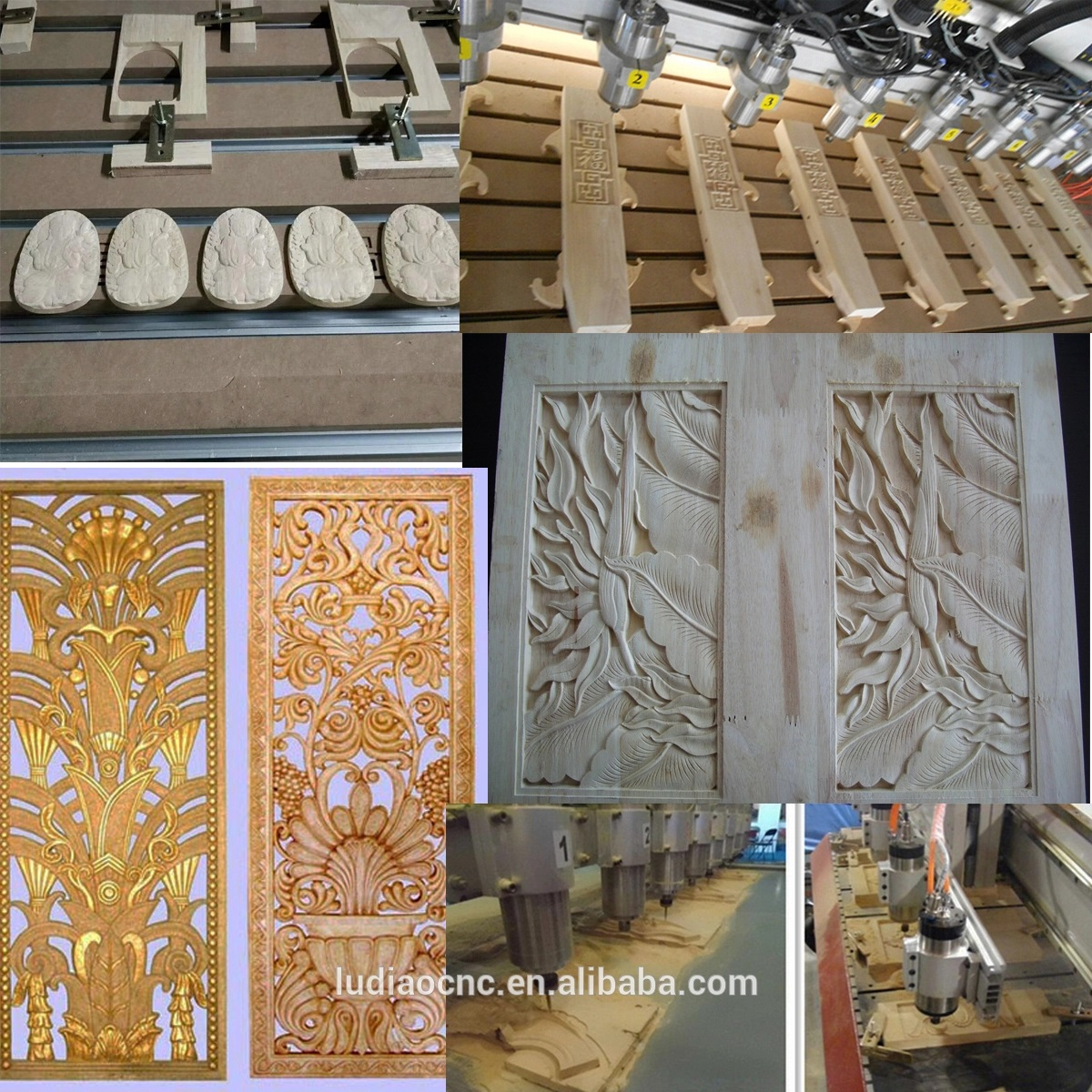 Ludiao Latest 3 axis cnc router manufacturers for woodworking-5