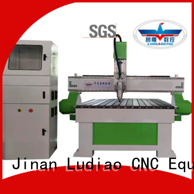 Ludiao 4 axis cnc mill factory for wood working